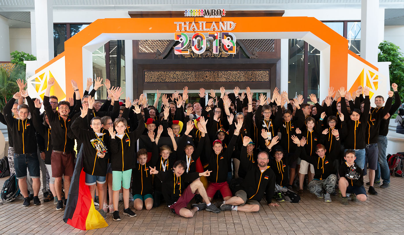 Gruppe Weltfinale Thailand